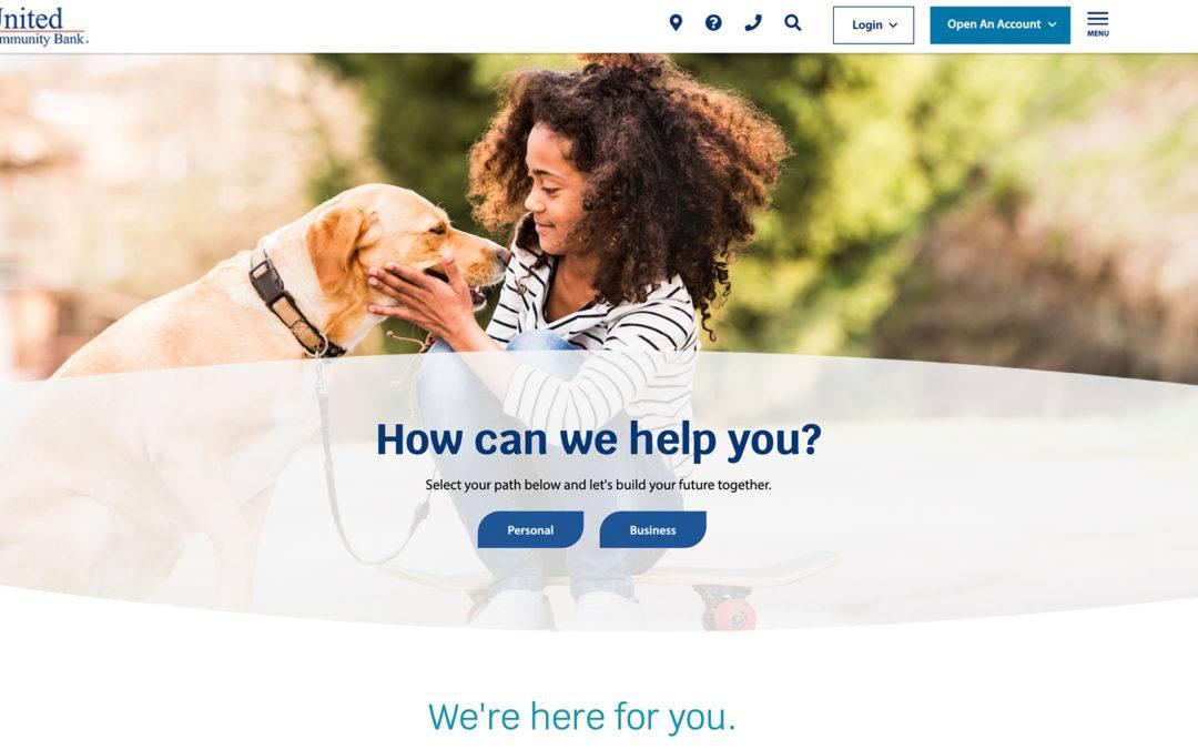 United Community Bank Website