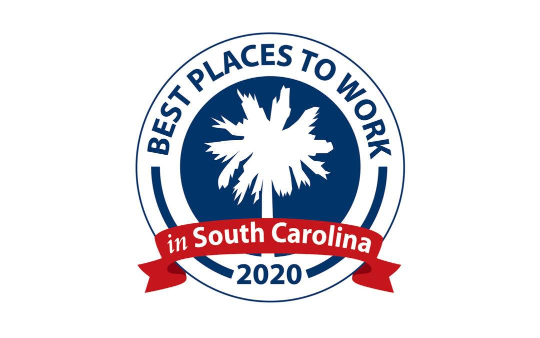 """Crawford Named One of the """"Best Places to Work"""" in SC for 3rd Consecutive Year"""